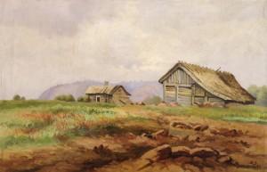 01 1890 Motif from Kinnekulle canvas 18 x 26 Trust