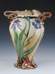 02Iris vase by Carol Long