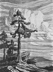 03 Sandzen Colo Pines