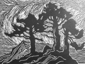 b042-sunset-1921-linoleum-cut