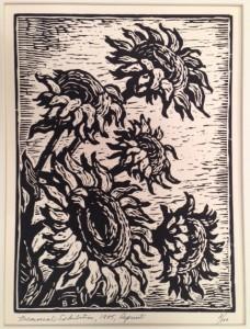 Kansas Sunflowers reprint 1985