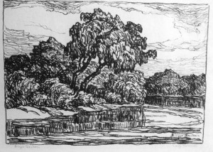 L081 Early Summer 1923 lithograph