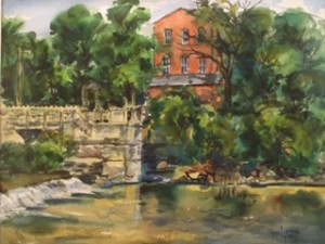 Larson S Old Mill from McIntyer