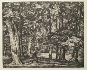 Lucioni L Tree Tapestry