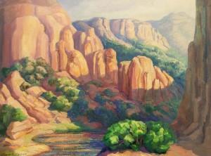 Near Moab by Anna E Keener