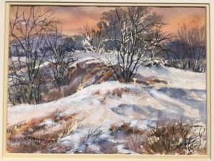 peterson-carl-winter-landscape-1990-9-x-12