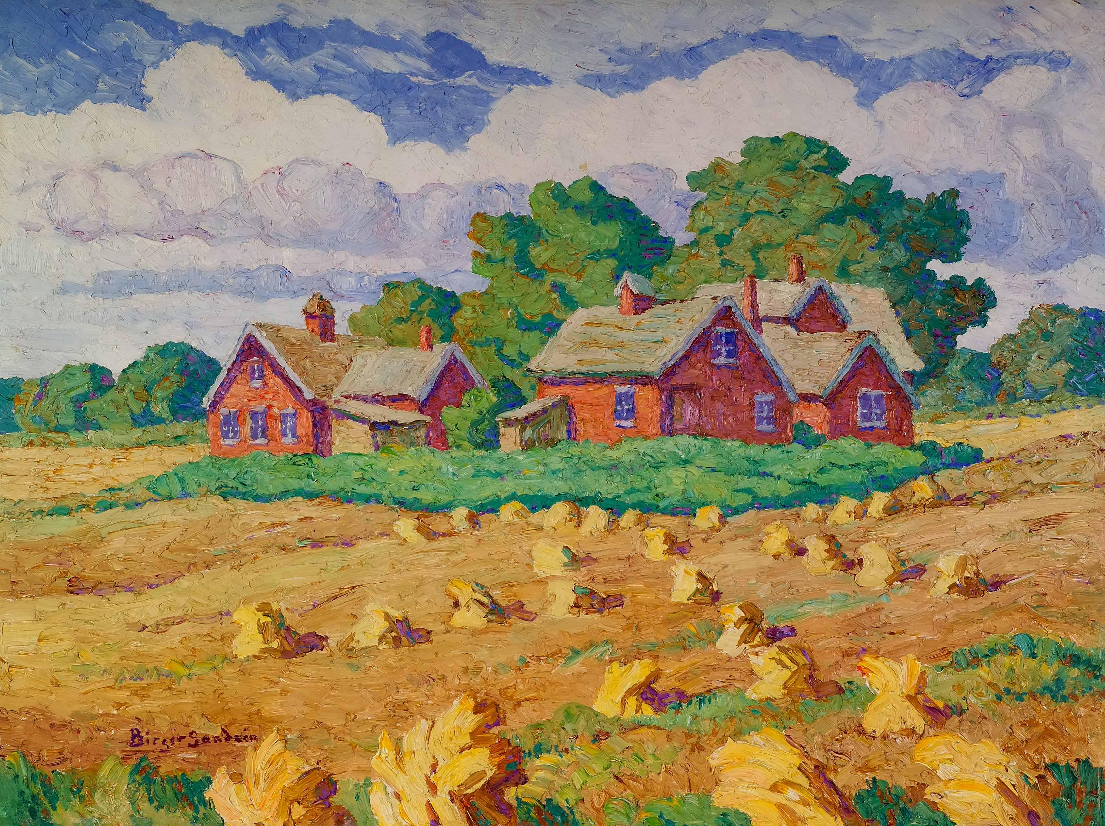 Late Years 1930 1953 Birger Sandz 233 N Memorial Gallery